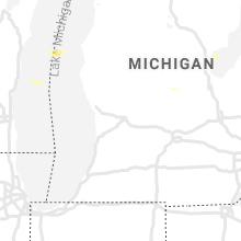 Regional Hail Map for Grand Rapids, MI - Tuesday, July 6, 2021