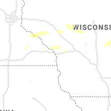 Regional Hail Map for La Crosse, WI - Tuesday, July 6, 2021