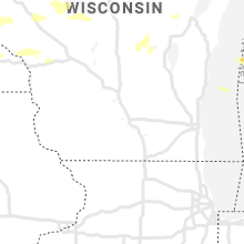 Regional Hail Map for Madison, WI - Tuesday, July 6, 2021