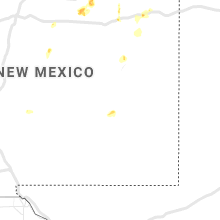 Regional Hail Map for Roswell, NM - Tuesday, July 6, 2021