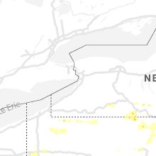 Regional Hail Map for Buffalo, NY - Wednesday, July 7, 2021