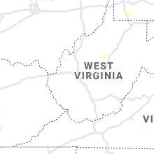 Regional Hail Map for Charleston, WV - Wednesday, July 7, 2021