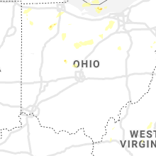 Regional Hail Map for Columbus, OH - Wednesday, July 7, 2021