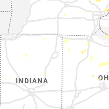 Regional Hail Map for Fort Wayne, IN - Wednesday, July 7, 2021