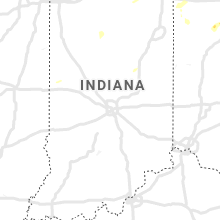 Regional Hail Map for Indianapolis, IN - Wednesday, July 7, 2021