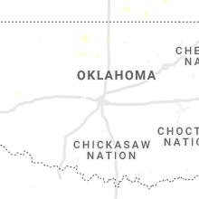 Regional Hail Map for Oklahoma City, OK - Wednesday, July 7, 2021