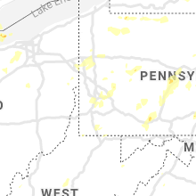 Regional Hail Map for Pittsburgh, PA - Wednesday, July 7, 2021