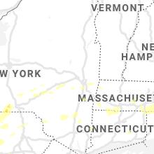 Regional Hail Map for Schenectady, NY - Wednesday, July 7, 2021