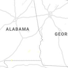 Regional Hail Map for Auburn, AL - Thursday, July 8, 2021