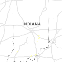 Regional Hail Map for Indianapolis, IN - Thursday, July 8, 2021
