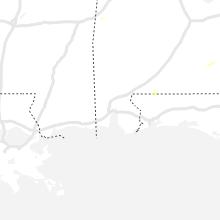 Regional Hail Map for Mobile, AL - Thursday, July 8, 2021