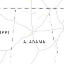 Regional Hail Map for Birmingham, AL - Friday, July 9, 2021