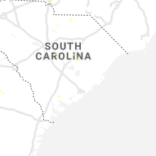 Regional Hail Map for Charleston, SC - Friday, July 9, 2021