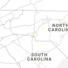 Regional Hail Map for Charlotte, NC - Friday, July 9, 2021