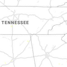 Regional Hail Map for Chattanooga, TN - Friday, July 9, 2021