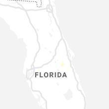 Regional Hail Map for Orlando, FL - Friday, July 9, 2021