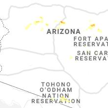 Hail Map for phoenix-az 2021-07-09