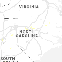 Regional Hail Map for Raleigh, NC - Friday, July 9, 2021