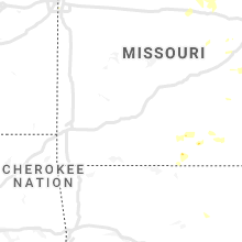 Regional Hail Map for Springfield, MO - Friday, July 9, 2021