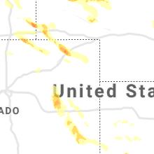 Regional Hail Map for Yuma, CO - Friday, July 9, 2021