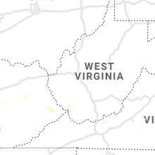 Regional Hail Map for Charleston, WV - Saturday, July 10, 2021