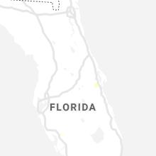 Regional Hail Map for Orlando, FL - Saturday, July 10, 2021