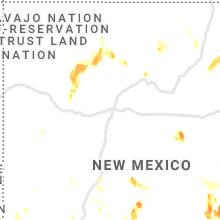 Regional Hail Map for Albuquerque, NM - Sunday, July 11, 2021