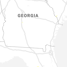 Regional Hail Map for Douglas, GA - Sunday, July 11, 2021