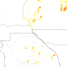 Regional Hail Map for El Paso, TX - Sunday, July 11, 2021