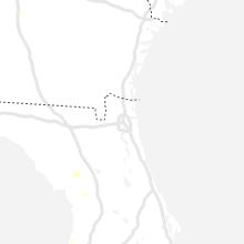 Regional Hail Map for Jacksonville, FL - Sunday, July 11, 2021