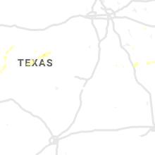 Regional Hail Map for Killeen, TX - Sunday, July 11, 2021