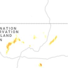 Regional Hail Map for Taos, NM - Sunday, July 11, 2021