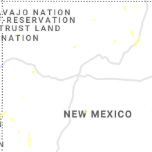 Regional Hail Map for Albuquerque, NM - Monday, July 12, 2021