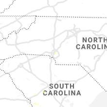 Regional Hail Map for Charlotte, NC - Monday, July 12, 2021