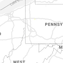 Regional Hail Map for Pittsburgh, PA - Monday, July 12, 2021