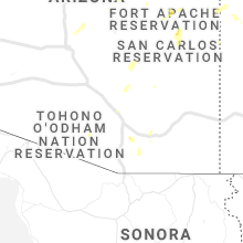 Regional Hail Map for Tucson, AZ - Monday, July 12, 2021