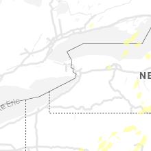Regional Hail Map for Buffalo, NY - Tuesday, July 13, 2021