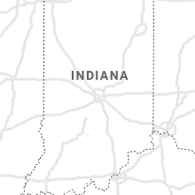 Regional Hail Map for Indianapolis, IN - Tuesday, July 13, 2021