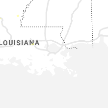 Regional Hail Map for New Orleans, LA - Tuesday, July 13, 2021