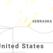 Regional Hail Map for North Platte, NE - Tuesday, July 13, 2021