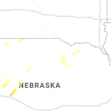 Regional Hail Map for Oneill, NE - Tuesday, July 13, 2021