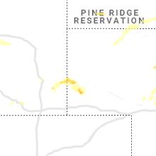 Regional Hail Map for Scottsbluff, NE - Tuesday, July 13, 2021