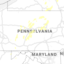 Regional Hail Map for State College, PA - Tuesday, July 13, 2021