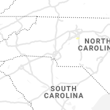 Regional Hail Map for Charlotte, NC - Wednesday, July 14, 2021