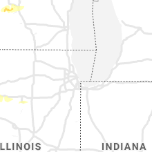 Regional Hail Map for Chicago, IL - Wednesday, July 14, 2021
