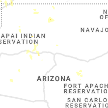 Regional Hail Map for Flagstaff, AZ - Wednesday, July 14, 2021