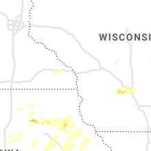 Regional Hail Map for La Crosse, WI - Wednesday, July 14, 2021