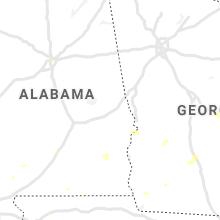 Regional Hail Map for Auburn, AL - Thursday, July 15, 2021