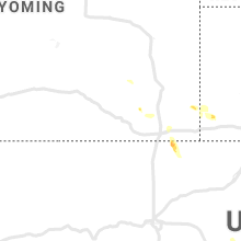 Regional Hail Map for Laramie, WY - Thursday, July 15, 2021