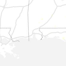 Regional Hail Map for Mobile, AL - Thursday, July 15, 2021